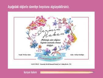davetiye-olculeri FLOWERNOVA – Farklı Davetiye davetiye olculeri 337x253