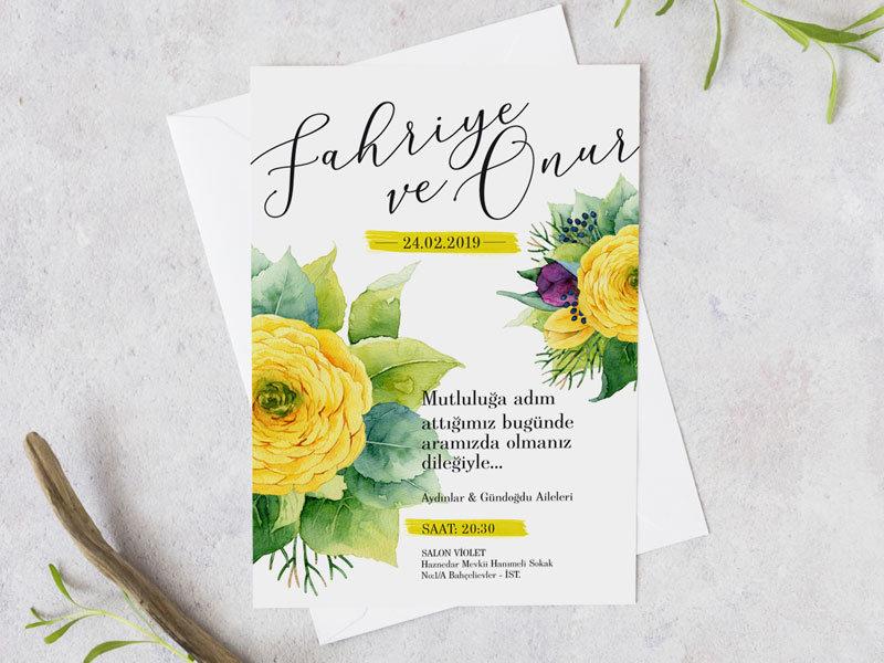 nikah davetiyesi davetiye örnekleri HIGHLIGHT – Düğün ve Nikah Davetiyesi nikah davetiyesi 1