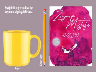 karikatürlü devetiye istanbul temalı davetiye MOON – İstanbul Temalı Davetiye karikaturlu davetiye 337x253